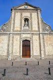 The main entrance of St Nicolas Church in Boulogne sur Mer, Cote d`Opale, Pas de Calais, Hauts de France Stock Photo