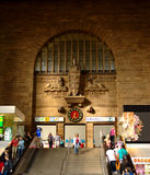 Main Entrance of Stuttgart's Central Station. This is the main entrance of stuttgart's central railway station Stock Photography