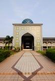 Main Entrance of Sultan Abdul Samad Mosque (KLIA Mosque) Royalty Free Stock Photo