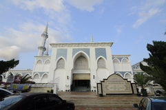 Main Entrance of Sultan Ahmad Shah 1 Mosque in Kuantan Stock Photo