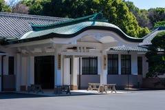 Temple entrance in Tokyo Royalty Free Stock Photos