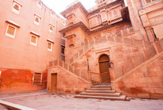 Main entrance of the 16th century Junagarh Fort Stock Images