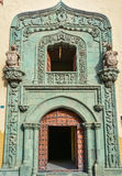 Main entrance to Casa de Colon (The house of Christopher Columbus), Las Palmas, Gran Canaria Royalty Free Stock Photos