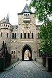 The main entrance to the castle of Marienburg (Germany) Royalty Free Stock Photo