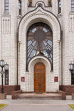 The main entrance to the church of All Saints at Mamayev Kurgan Royalty Free Stock Photos