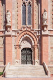 Main Entrance to the Comillas University Royalty Free Stock Photos