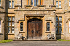 Main Entrance to Croft Castle, Herefordshire, England. royalty free stock photo
