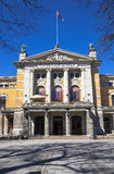 Main entrance to the dramatic theater. Oslo. Norway Stock Photos