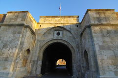 Main entrance to the fortress Stock Image