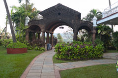 Main entrance to the hotel India Stock Photos