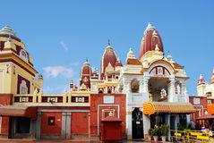 The main entrance to the Laxmi Narayan Temple. Is BIRLA TEMPLE in Delhi Stock Photo