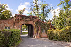 Main entrance to mansion Royalty Free Stock Images