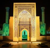 The architecture of ancient Samarkand royalty free stock photography