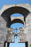Main entrance to the monastery Echmiadzin, Armenia Stock Photography