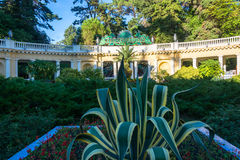 The main entrance to the Park-the arboretum of Sochi, on 6 Octob Stock Photography