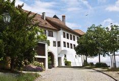 Main entrance to the Regensberg castle Stock Photos