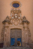 Main entrance to Saint Stevens church. Stock Photography