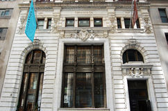 Main Entrance to Tiffany Store, New York Royalty Free Stock Image