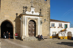 Main entrance to the town. Obidos. Portugal Royalty Free Stock Images