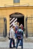 Main entrance to Trubetskoy bastion prison Stock Photos