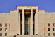 Main entrance of University City studies La Sapienza, Roma, Ital Stock Photos