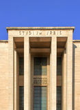 Main entrance of University City studies La Sapienza, Roma, Ital Stock Photo