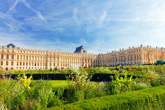 Main entrance of Versailles Palace Stock Images