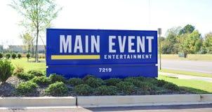 Main Event Bowling Center, Bartlett, TN Stock Images