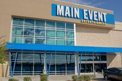 Main Event owned by Ardent Leisure royalty free stock photo