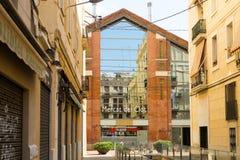 Main facade of  Clot market. Barcelona Royalty Free Stock Photography