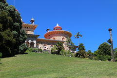 Main facade of Monserrate palace, Sintra, Portugal Stock Photo