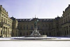 Main Facade, Residenz zu Wuerzburg Royalty Free Stock Images