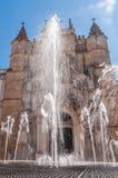 Main facade of Santa Cruz Monastery Royalty Free Stock Photos