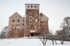Main facade of Turku Castle Royalty Free Stock Image