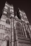 Main facade of Westminster Abbey Stock Images