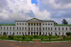 Main farmstead house of Ivanovskoe estate in Podolsk, Moscow region, Russia Royalty Free Stock Photos