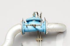 Main faucet of water Stock Photos
