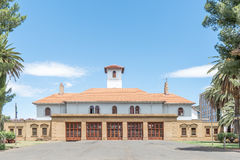 Main fire station in Bloemfontein Stock Photos