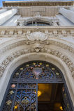 Main front entrance of the Oceanographic museum in Monaco Royalty Free Stock Image