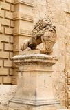 Main Gate city access to Mdina in Malta 2013 Royalty Free Stock Photo