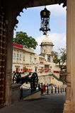 Main gate of City Palace complex, Udaipur, India Royalty Free Stock Photo