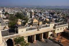Main gate of City Palace complex, Udaipur, India Royalty Free Stock Photography