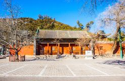 The main gate of Grand Master Dou temple Royalty Free Stock Image