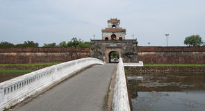 Main gate of The Imperial City in Hue Royalty Free Stock Photo