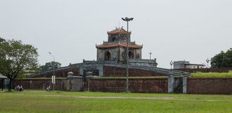 Main gate of The Imperial City in Hue Stock Image