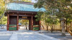 Main Gate of Kotoku-in Temple in Kamakura Stock Images