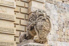 Main Gate in Mdina, Malta Royalty Free Stock Photography