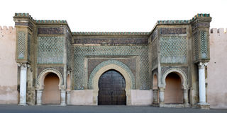 Main gate of Meknes Stock Image