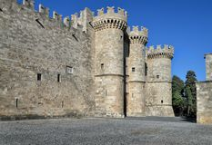Palace of the Grand Master of the Knights. Rhodes Royalty Free Stock Image