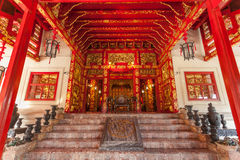 Main gate of Phra Thinang Wehart Chamrun Stock Images
